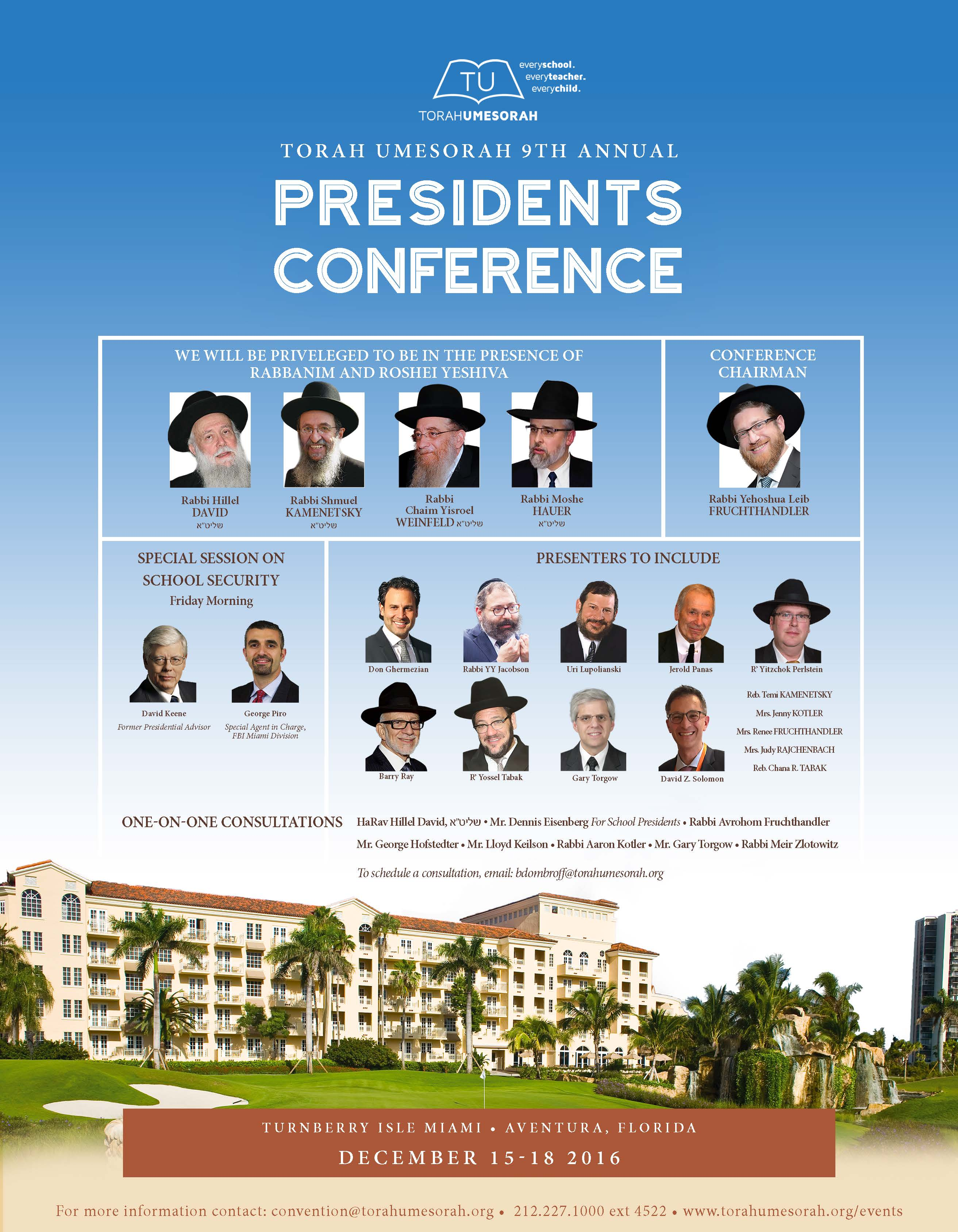 9th Annual Presidents Conference