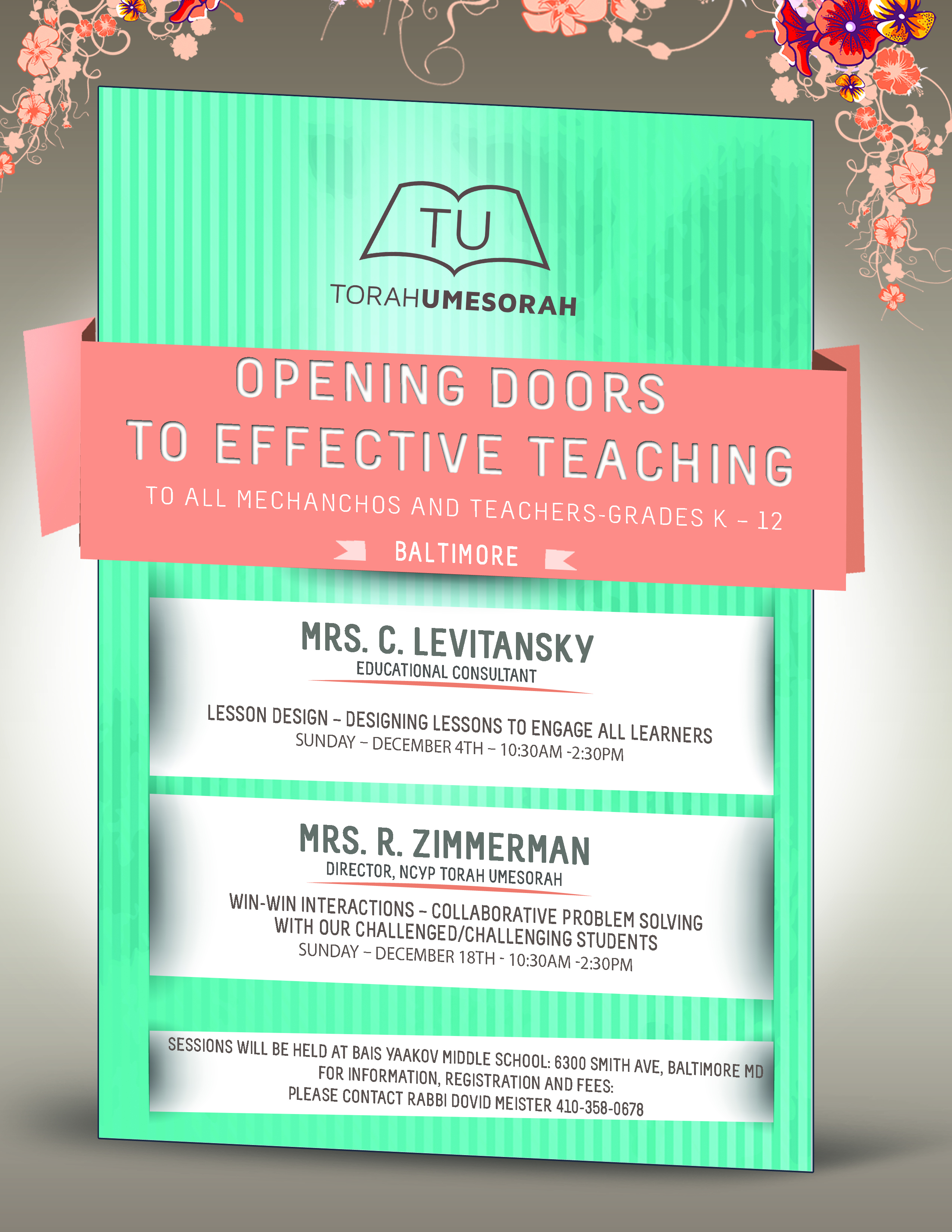 Opening Doors to Effective Teaching