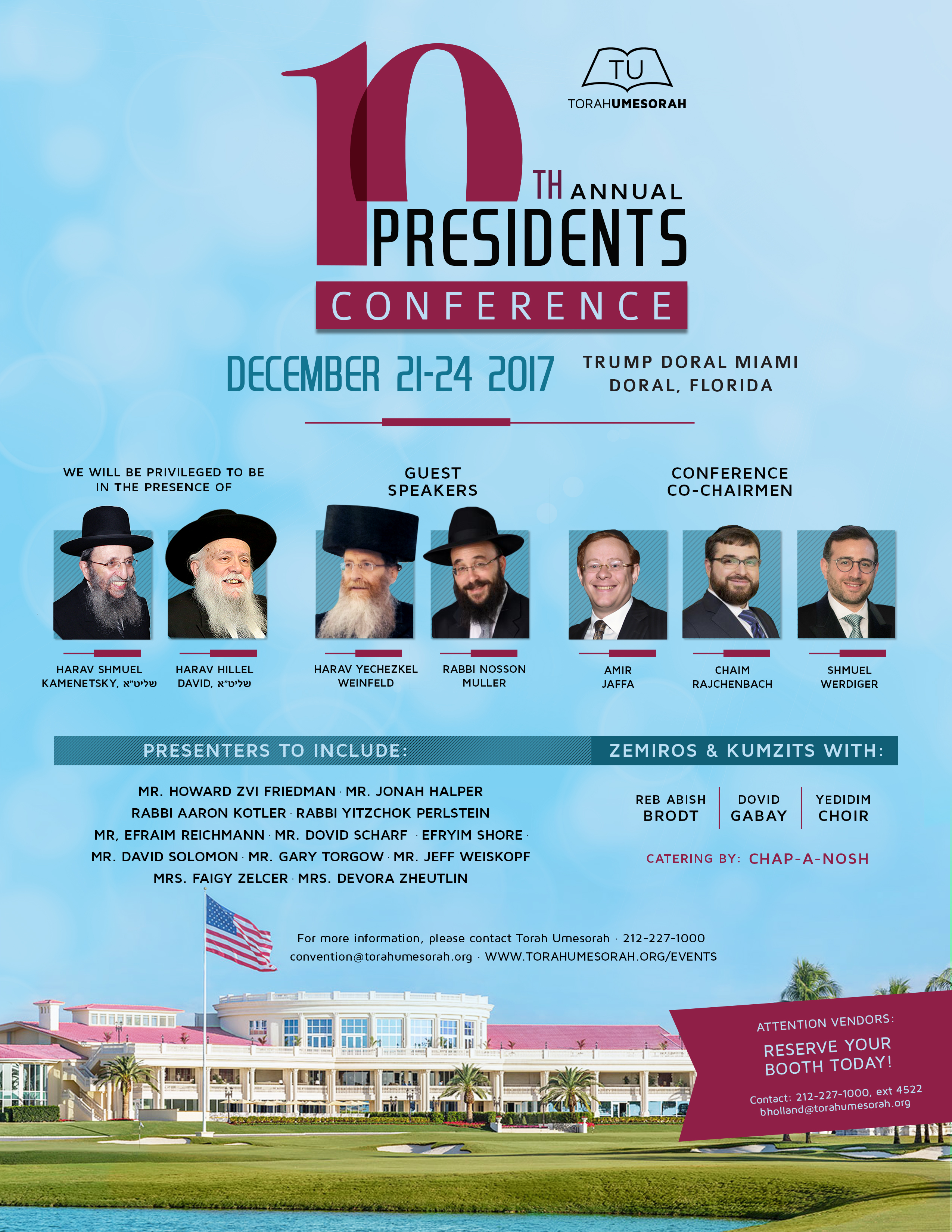 10th Annual Presidents Conference