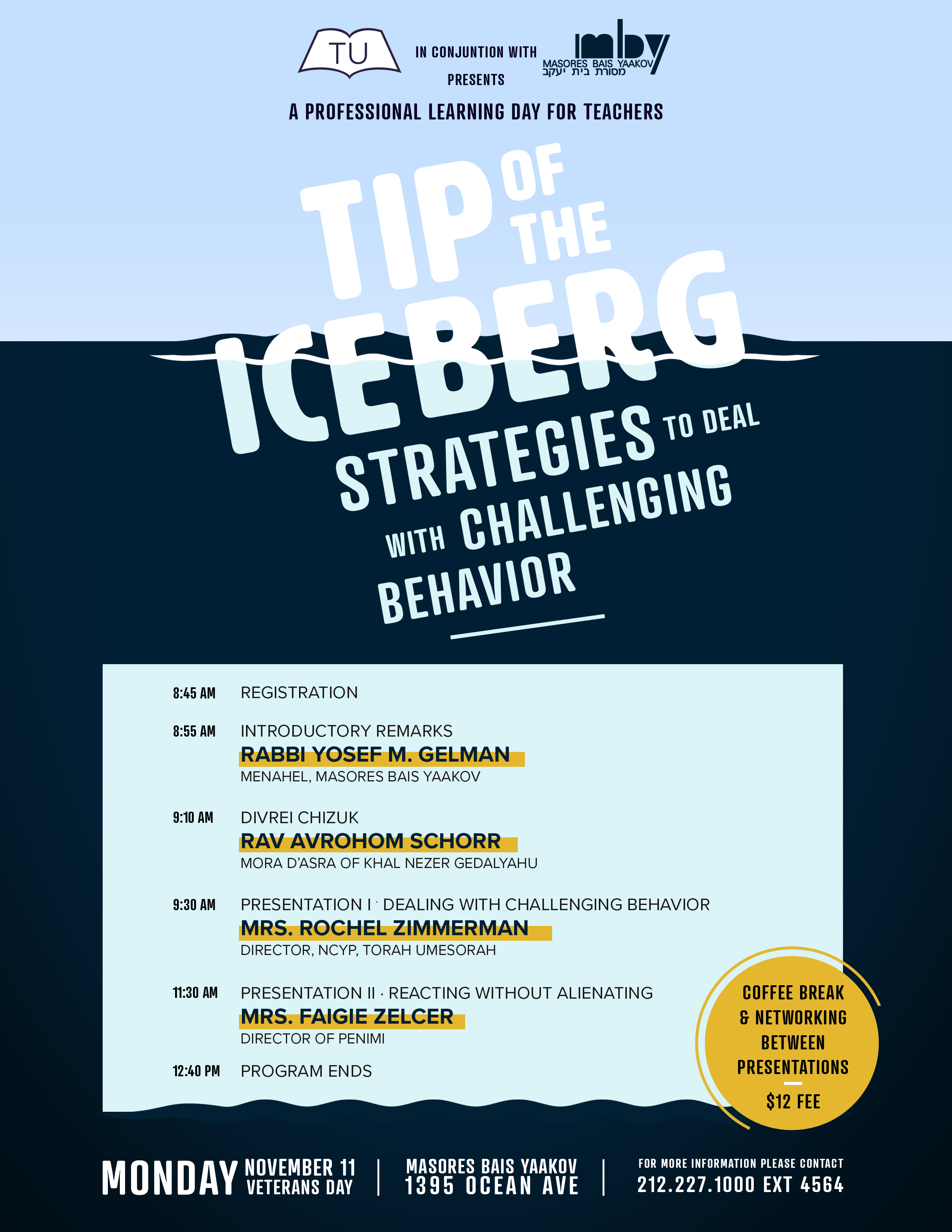 Tip of the Iceberg: Strategies to Deal with Challenging Behavior