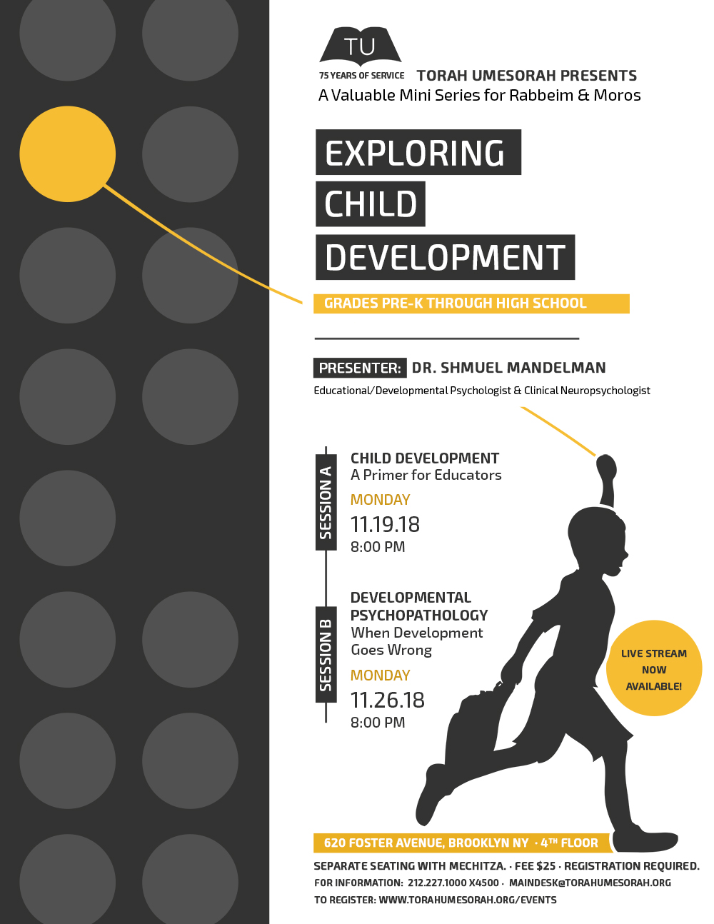 Exploring Child Development: A Valuable Mini-Series for Rabbeim & Moros